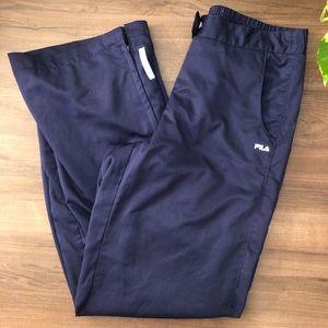 FILA | Navy Sweatpants